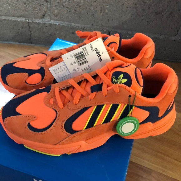 f4a980421574 Adidas Yung 1 Dragon ball Z